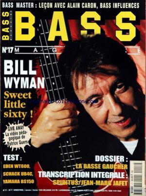 BASS MAGAZINE no:17 01/01/1998