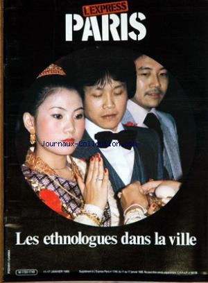 EXPRESS PARIS (L') no:1749 11/01/1985