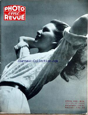 PHOTO CINE REVUE no: 01/04/1953