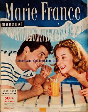 MARIE FRANCE no:5 01/08/1956