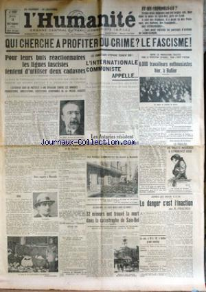 HUMANITE (L') no: 11/10/1934
