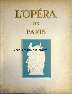 OPERA NATIONAL DE PARIS no:1 01/07/1950