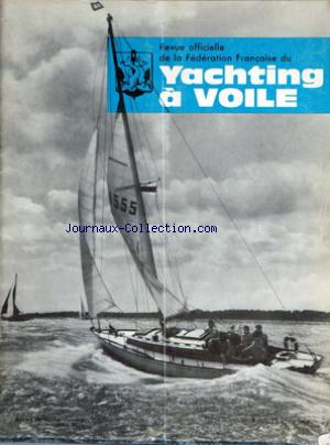 YACHTING A VOILE no:7 01/07/1963