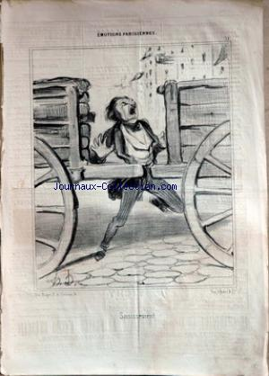 LITHOGRAPHIE HONORE DAUMIER no: