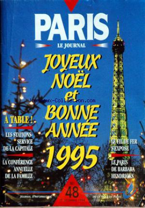 PARIS LE JOURNAL no:48 15/12/1994