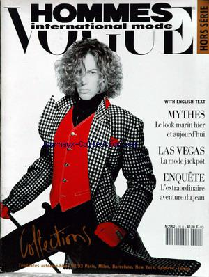 VOGUE HOMMES INTERNATIONAL no:16 01/09/1992