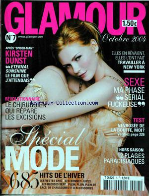 GLAMOUR no:7 01/10/2004