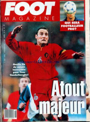FOOT MAGAZINE no:18 03/05/2000