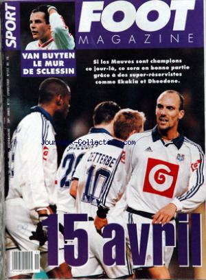 FOOT MAGAZINE no:11 15/03/2000