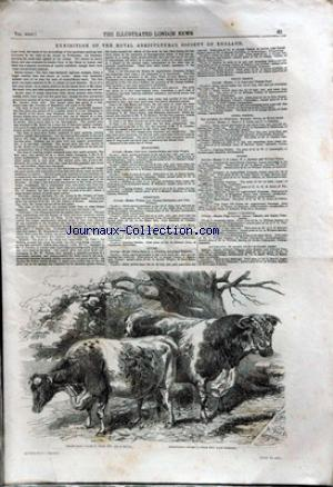 ILLUSTRATED LONDON NEWS (THE) no: 23/07/1853