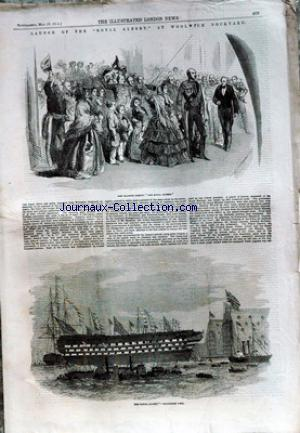 ILLUSTRATED LONDON NEWS (THE) no: 20/05/1854