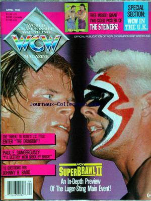 WORLD CHAMPIONSHIP WRESTLING no:4 01/04/1992