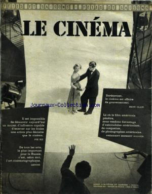 CINEMA (LE) no:56 01/12/1954