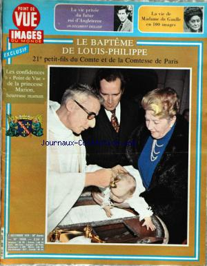 POINT DE VUE IMAGES DU MONDE no:1636 07/12/1979