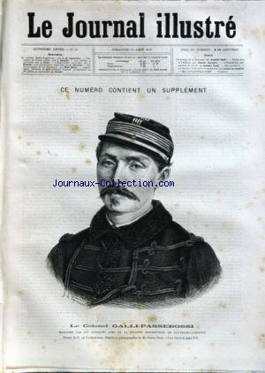JOURNAL ILLUSTRE (LE) no:33 11/08/1878