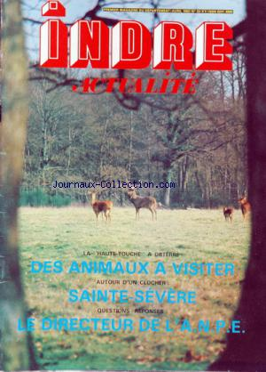 INDRE ACTUALITE no:22 01/04/1982