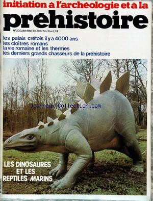 INITIATION A L'ARCHEOLOGIE no:20 01/07/1980