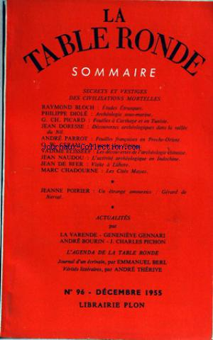 TABLE RONDE (LA) no:96 01/12/1955