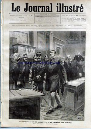 JOURNAL ILLUSTRE (LE) no:25 18/06/1899
