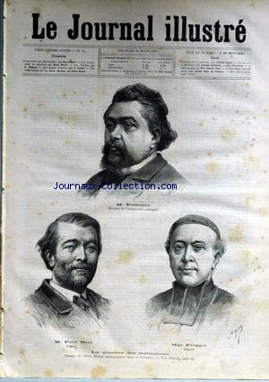 JOURNAL ILLUSTRE (LE) no:11 16/03/1884
