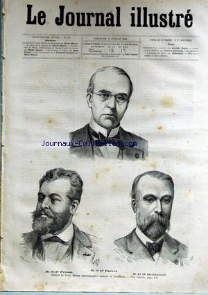 JOURNAL ILLUSTRE (LE) no:28 13/07/1884