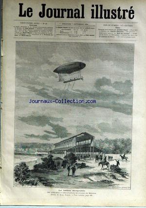 JOURNAL ILLUSTRE (LE) no:36 07/09/1884