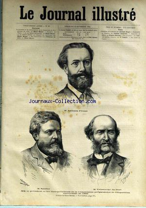 JOURNAL ILLUSTRE (LE) no:47 23/11/1884