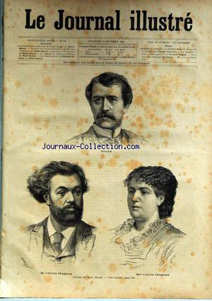 JOURNAL ILLUSTRE (LE) no:50 14/12/1884