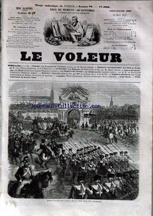 VOLEUR ILLUSTRE (LE) no:29 22/05/1857