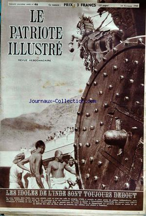 PATRIOTE ILLUSTRE (LE) no:46 14/11/1948