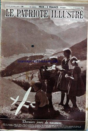 PATRIOTE ILLUSTRE (LE) no:36 05/09/1948
