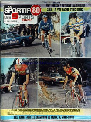 SPORTIF LES SPORTS MAGAZINE (LE) no:7 18/02/1981