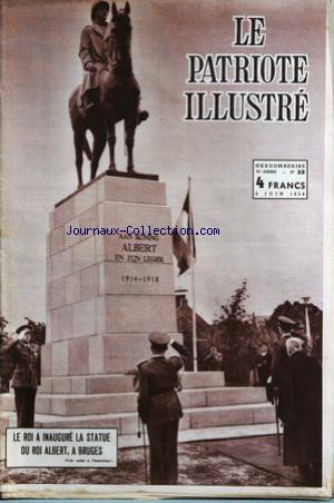 PATRIOTE ILLUSTRE (LE) no:23 06/06/1954