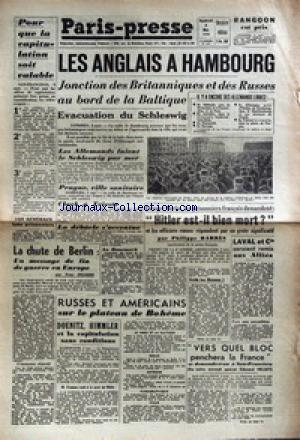 PARIS PRESSE no: 04/05/1945