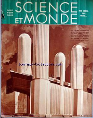 SCIENCE ET MONDE no:17 10/09/1931