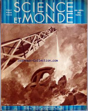 SCIENCE ET MONDE no:7 02/07/1931