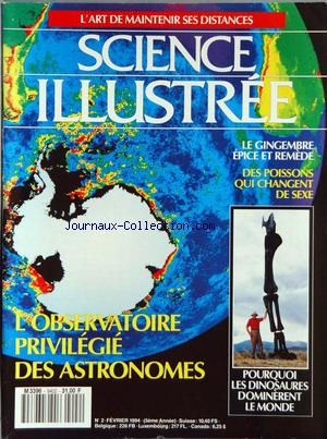 SCIENCE ILLUSTREE no:2 01/02/1994