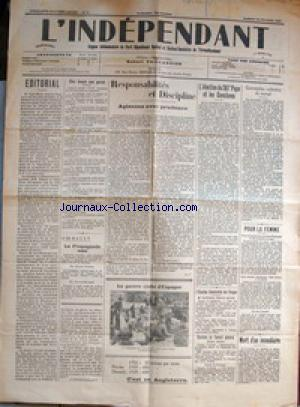 INDEPENDANT (L') no:8 25/02/1939