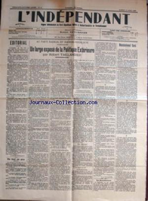 INDEPENDANT (L') no:15 15/04/1939