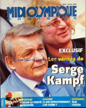 MIDI OLYMPIQUE MAGAZINE no:63 01/01/2005