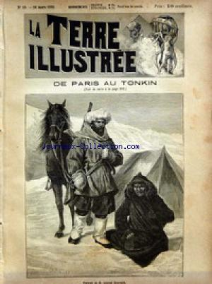 TERRE ILLUSTREE (LA) no:19 14/03/1891