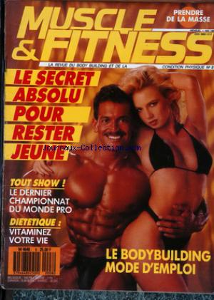 MUSCLE ET FITNESS no:8 01/05/1988