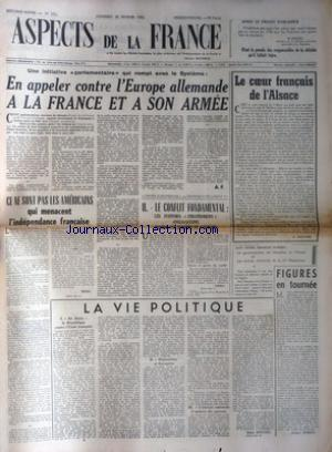 ASPECTS DE LA FRANCE no:231 20/02/1953