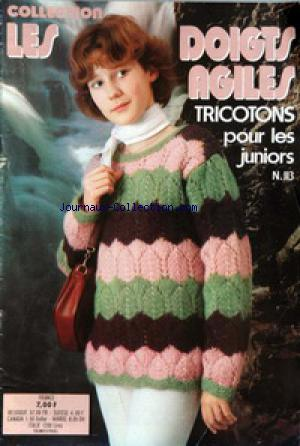 COLLECTION LES DOIGTS AGILES no:113
