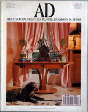 ARCHTECTURAL DIGEST no:12 01/05/1989