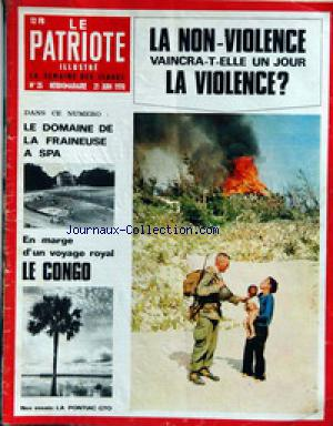 PATRIOTE ILLUSTRE (LE) no:25 21/06/1970