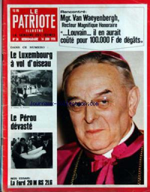 PATRIOTE ILLUSTRE (LE) no:24 14/06/1970