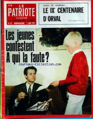 PATRIOTE ILLUSTRE (LE) no:23 07/06/1970