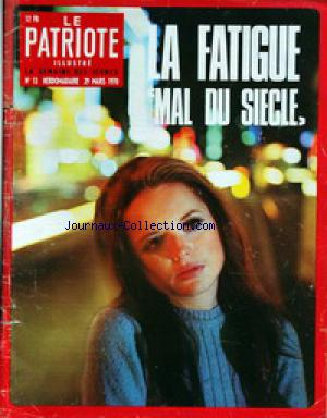 PATRIOTE ILLUSTRE (LE) no:13 29/03/1970