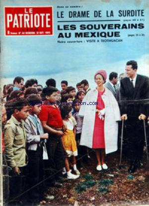 PATRIOTE ILLUSTRE (LE) no:44 31/10/1965